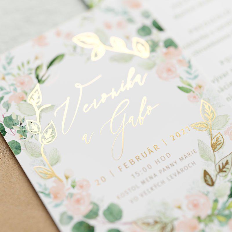 oznámenie ruže detail